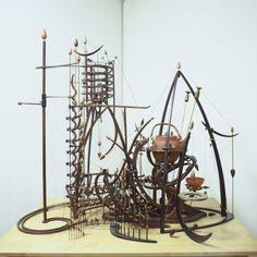 """The Invention"" Mark Bischof, Kinetic Artist."
