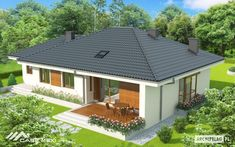 One storey Houses One Storey House, Exterior Paint, Gazebo, Shed, Outdoor Structures, Flooring, Outdoor Decor, Houses, Home Decor