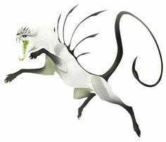 Scary cat-scorpion-spikey thing, the perfect predator; Scorpiovul