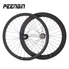 delivery by EMS easy order tracking carbon aero wheelset 38+60mm mixed track clincher wheels 25mm ruedas fixie hub single speed #Affiliate