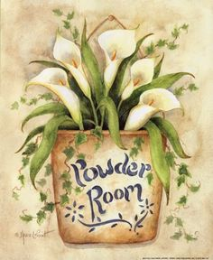 Powder Room by Annie Lapoint