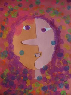 Picasso Inspired Faces in Grade 3 | Art Lessons For Kids