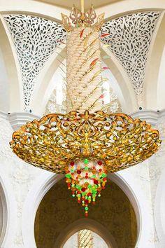 The Grand Mosque, Abu Dhabi, United Arab Emirates