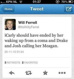 yes! Lol I love will ferrel tweets