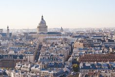 Panorama du 6ème arrondissement de Paris