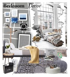 """""""Bedroom Decor"""" by oshint ❤ liked on Polyvore featuring interior, interiors, interior design, home, home decor, interior decorating, Graham & Brown, Castor, Eleanor Stuart and Park B. Smith"""