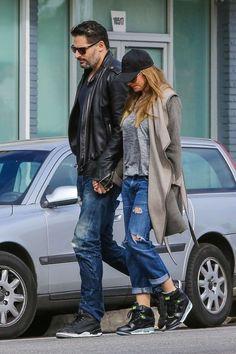 Sofia Vergara and Joe Manganiello in Distressed Jeans