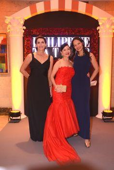 Marit Yuchengco, Mia Borromeo, and Barbara Aboitiz