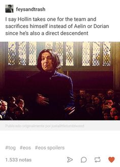 OMG what if they try to get Holllin to sacrafice himself but he doesn't want to and Dorian no matter how much he hates his little brother isnt about to force him to be a sacrafice and offers himself up instead...