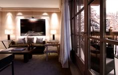 Le Cheval Blanc - Courchevel 1850  Our favourite hotel on the slopes, luxury at it's best but it comes with a hefty price tag.