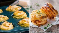 Super nápad! Fantastické zemiaky pečené v plechu na muffiny si obľúbi celá rodina