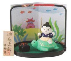 おとぎ話 浦島太郎(陶器 五月人形)