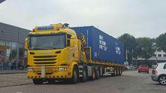 Scania G 450 zwaar autokraan speciaaltransport. .44-BGB-7.