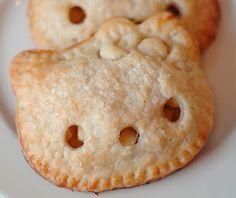 """Hello Kitty Pocket Pies"" (original link is here http://i-heart-baking.blogspot.it/2011/02/hello-kitty-pocket-pies.html)"