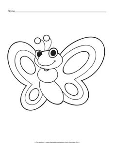 spring insects coloring pages - photo#15