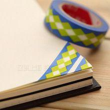 Милый и мода япония бумажная лента , которые могут быть торе и написано lacerable лента васи лента записки украшения DIY стикер(China (Mainland))