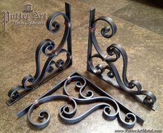 Potter Art Metal Studios: Wrought Iron Corbels: