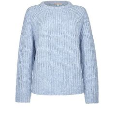 PAUL & JOE SISTER Boy Pullover ($210) ❤ liked on Polyvore featuring tops, sweaters, blue, loose fitting sweaters, loose fitting tops, pullover tops, pullover sweaters and blue sweater
