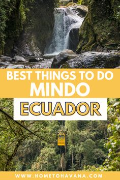 Waterfall Hikes, Small Waterfall, Mindo Ecuador, Equador, Peru Travel, South America Travel, Future Travel, Ultimate Travel, Things To Do