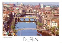 Dublin, Ireland. Doesn't look as quaint as I picture in my head. I still REALLY want to see it.