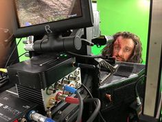 Just shot this close up of Richard. Look for it in Dec 2014!   2 more shots to go. Main Unit shooting Thorin, Splinter Unit shooting Fili and Kili.  9.21pm. Getting very near the end …