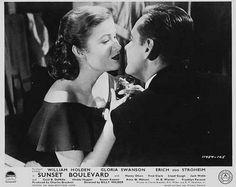 Nancy Olson and William Holden 'Sunset Boulevard'