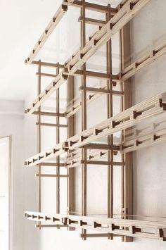 Some pics that inspire us Timber Furniture, Woodworking Furniture, Contemporary Furniture, Furniture Design, Bookcase Shelves, Shelving, Shelf, Handmade Furniture, Vintage Furniture