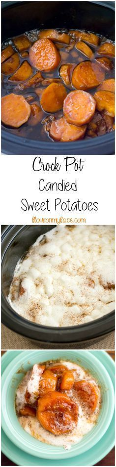 4 Points About Vintage And Standard Elizabethan Cooking Recipes! Free Up Some Of That Precious Oven Space On Thanksgiving Day And Make This Crock Pot Candied Sweet Potatoes Recipe For Thanksgiving Dinner Via Crock Pot Food, Crockpot Dishes, Dinner Crockpot, Thanksgiving Dinner Recipes, Holiday Recipes, Recipes Dinner, Christmas Recipes, Drink Recipes, Dinner Ideas
