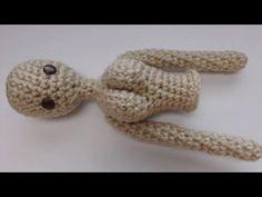 Doll Upper Body Crochet Tutorial - YouTube