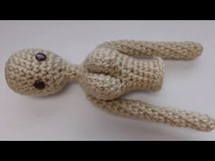 Doll Upper Body Crochet Tutorial - YouTube