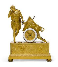 Bonhams : The Elegant Home: Select Furniture, Silver, Decorative and Fine Arts Best Wardrobe Designs, Antique Wall Clocks, Elegant Homes, Classic Clocks, Unusual Clocks, Wall Clock Online, Mantel Clocks, Retro Clock, Art Decor