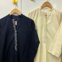 Black Pakistani Dress, Pakistani Casual Wear, Simple Pakistani Dresses, Pakistani Dress Design, Casual Dresses, Casual Outfits, Fashion Outfits, Plain Kurti, Eid Ideas