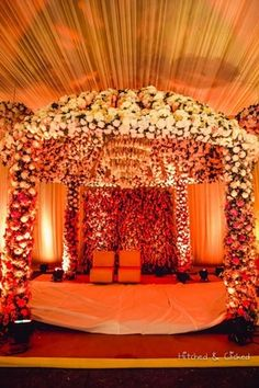 Tulips event best pakistani wedding stage decoration flowering for delhi ncr weddings indian wedding decorationsflower junglespirit Image collections