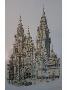 Patrick van Haren Santiago de Compostella