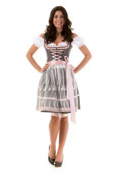a47d0fe1a5af7a DIRNDL TRACHTENKLEID SCHWARZ 3.tlg (201) Oktoberfest Kleidung Damen,  Oktoberfest Frisur,