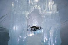 ice hotel: kiruna, sweden