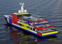 'The Mondrian' vasily klyukin conceives super yachts for bold luxury travel