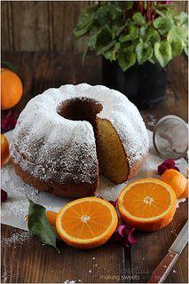 Κέικ Πορτοκάλι | Orange Pound Cake Cookbook Recipes, Sweets Recipes, Egg Recipes, Cookie Recipes, Greek Sweets, Greek Desserts, Greek Recipes, Cake Cookies, Cupcake Cakes