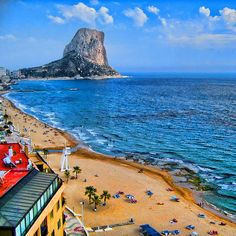 Yeah, I climbed to the top of that :) Calpe, Spain