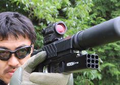 Mach Sakai's Zoxna Mini Launcher Review Custom Guns, Something Else, Airsoft, Weapons, Popular, Mini, Weapons Guns, Guns, Firearms
