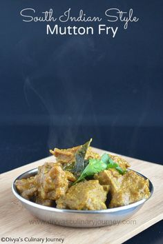 South Indian Style Mutton Fry