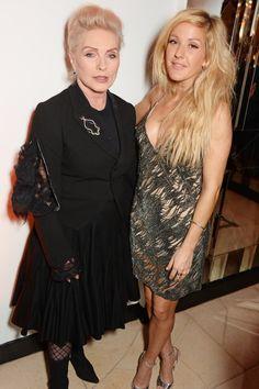 Pin for Later: La Question Est: Avec Qui Ellie Goulding N'est-Elle Pas Amie? Ellie Goulding et Debbie Harry