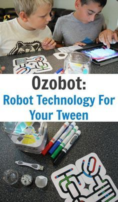 Ozobot: The perfect little robot for your tween. Great STEM activity!