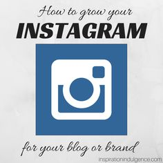 A blogger's guide to doubling your Instagram followers and growing your brand. Check out these proven strategies for building tremendous growth