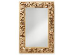 Spiegel - Yovas - Glas - LaForma-Kave Deze sierlijke spiegel is ...
