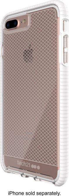 Tech21 - EVO Check Case for Apple® iPhone® 7 Plus - White/Clear, 47734BBR #iphone8plus, #iphone6spluscase, #iphoneaccessories,