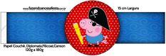 Porta Guardanapos George Pig Pirata (Peppa Pig):