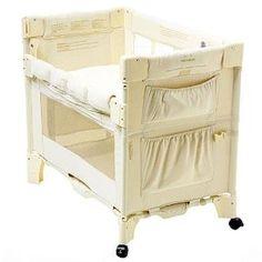 Arm's Reach Natural Mini Co-Sleeper - Series - Co-Sleepers - Nursery Furniture - Baby & Kids' Furniture - Furniture Co Sleeper Bassinet, Baby Co Sleeper, Baby Bassinet, Nursery Furniture, Kids Furniture, Cradles And Bassinets, Space Boy, Mini Crib, Baby Sleep