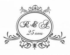 Download | Monogramas gratuitos para o seu casamento - Casando Sem Grana