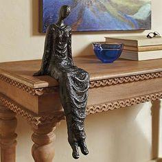 Sitting Lady Sculpture